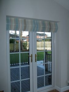 2 roman blinds