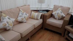Irving Stripe bolster cushion