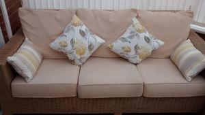 Laura Ashley Hydrangea cushions