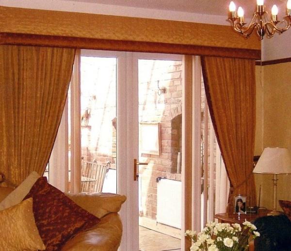 Floral Gardinen Und Pelmet Am: Pelmet & Curtains Edge To Pelmet