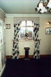 Pelmet for a narrow window