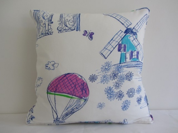 Designers Guild Meadowsweet cushion