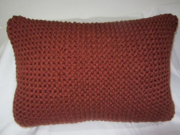 Knitted front panel